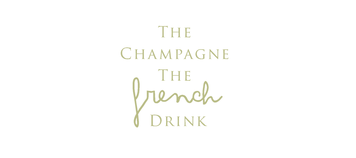 The Champagne the French drink