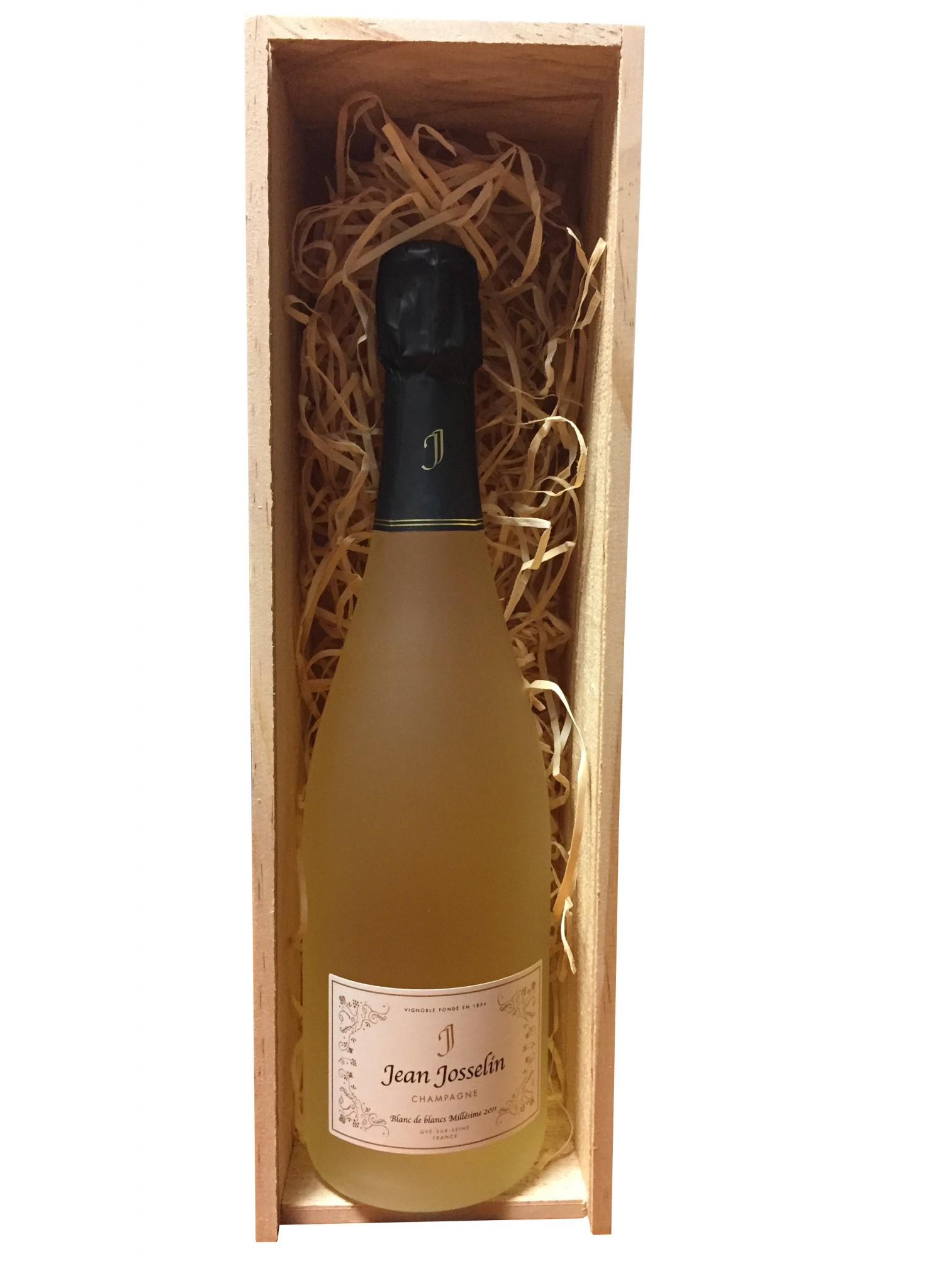 1 bottle jean josselin blanc de blancs millesime 2011 for Belle jardin blanc de blancs