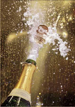 Celebrate – pop a cork!